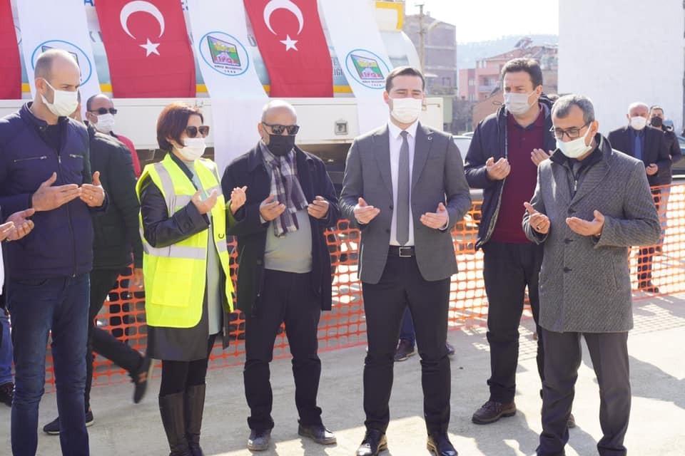 Kiraz'ın açık pazarı geçici olarak kapatıldı