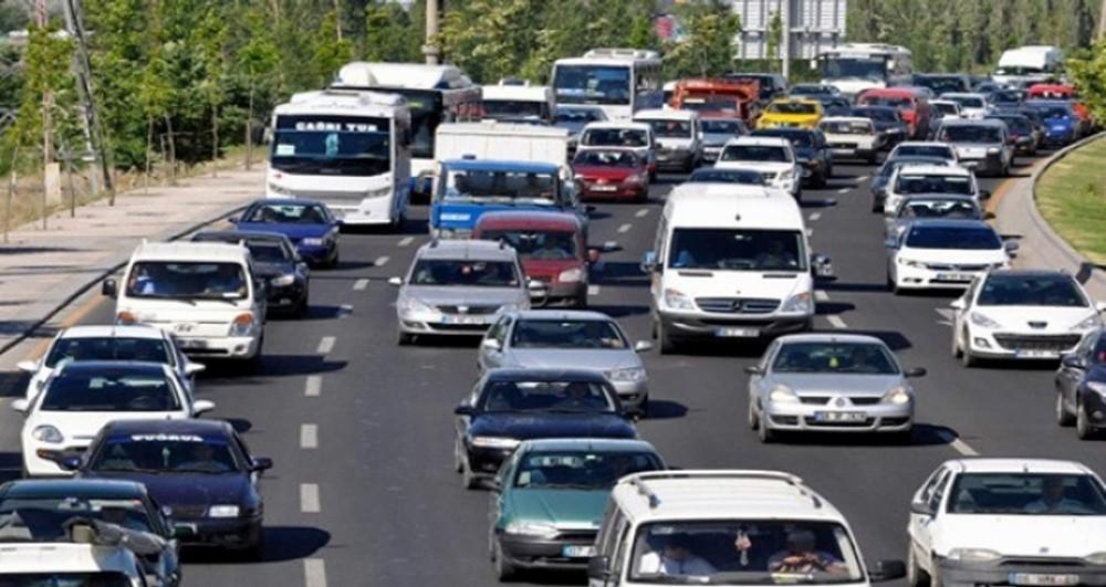 Denizli'de araç sayısı 428 bin 862'ye ulaştı