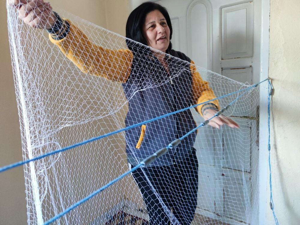 Hataylı Seher Aşker 36 yıldır balıkçılık yapıyor
