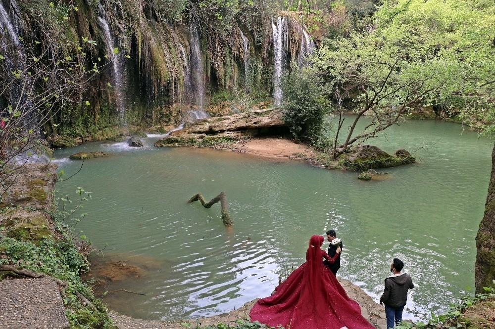 Antalya'nın doğal fotoğraf stüdyosu: Kurşunlu Şelalesi