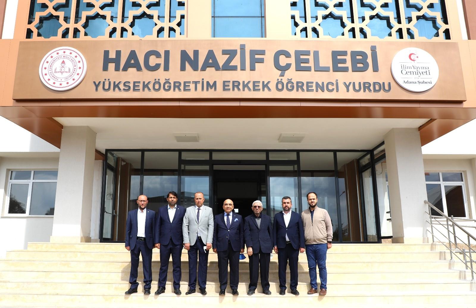 İlim Yayma Cemiyeti Adana Şube Başkanlığına Çomu yeniden seçildi