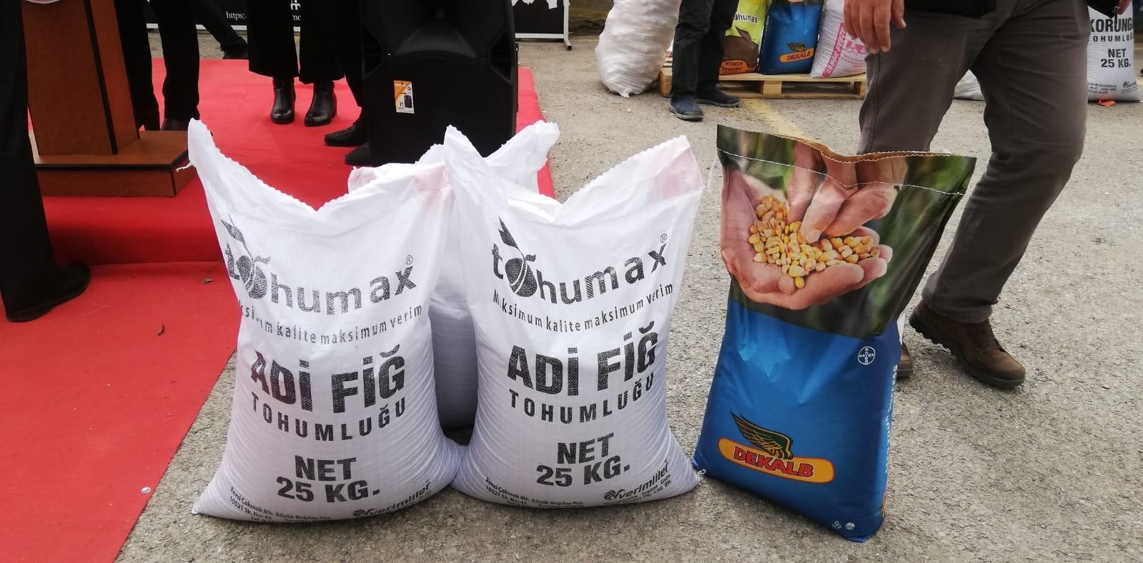 Erzurum'da Bitkisel Üretimi Geliştirme Projesi Tohum dağıtım programı -  Erzurum Haberleri