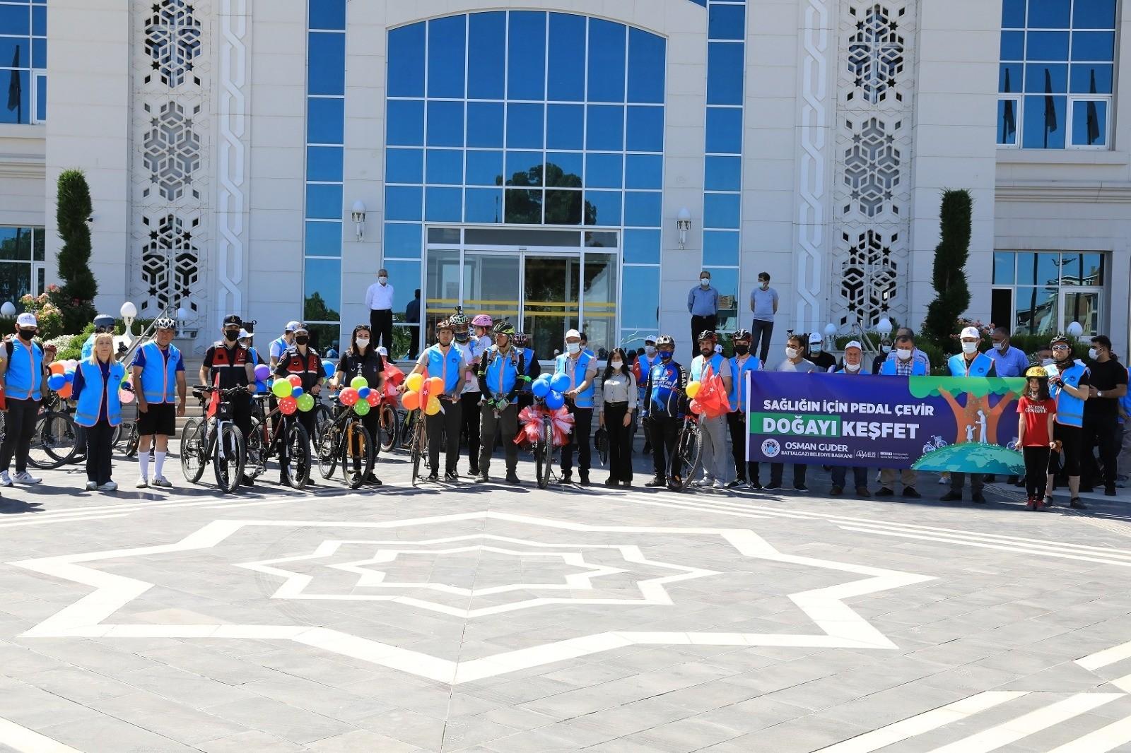 Battalgazi Belediyesi'nden özel bisiklet turu etkinliği