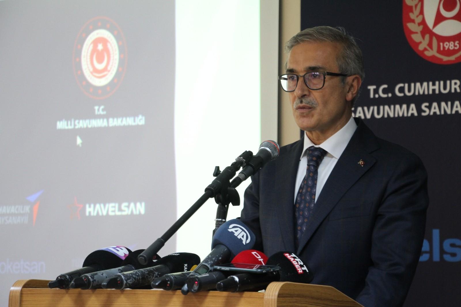 Savunma Sanayii Başkanı Demir: Gücü olmayan ve kullanmayan milletler ayakta kalamaz