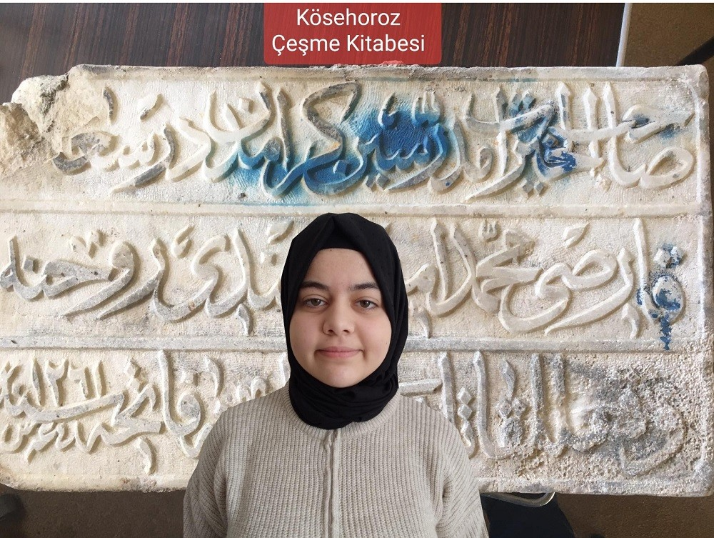 Başarılı öğrenci 14 bin projeyi geride bırakarak Bursa'nın iftihar kaynağı oldu