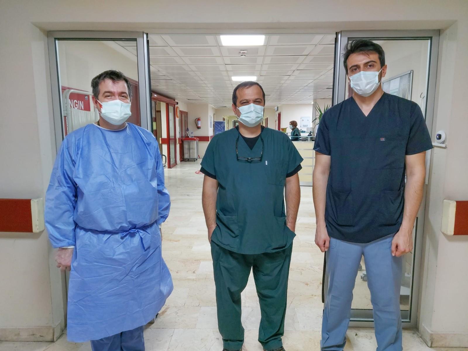 Evliya Çelebi Eğitim ve Araştırma Hastanesi'nden bir başarılı müdahale daha