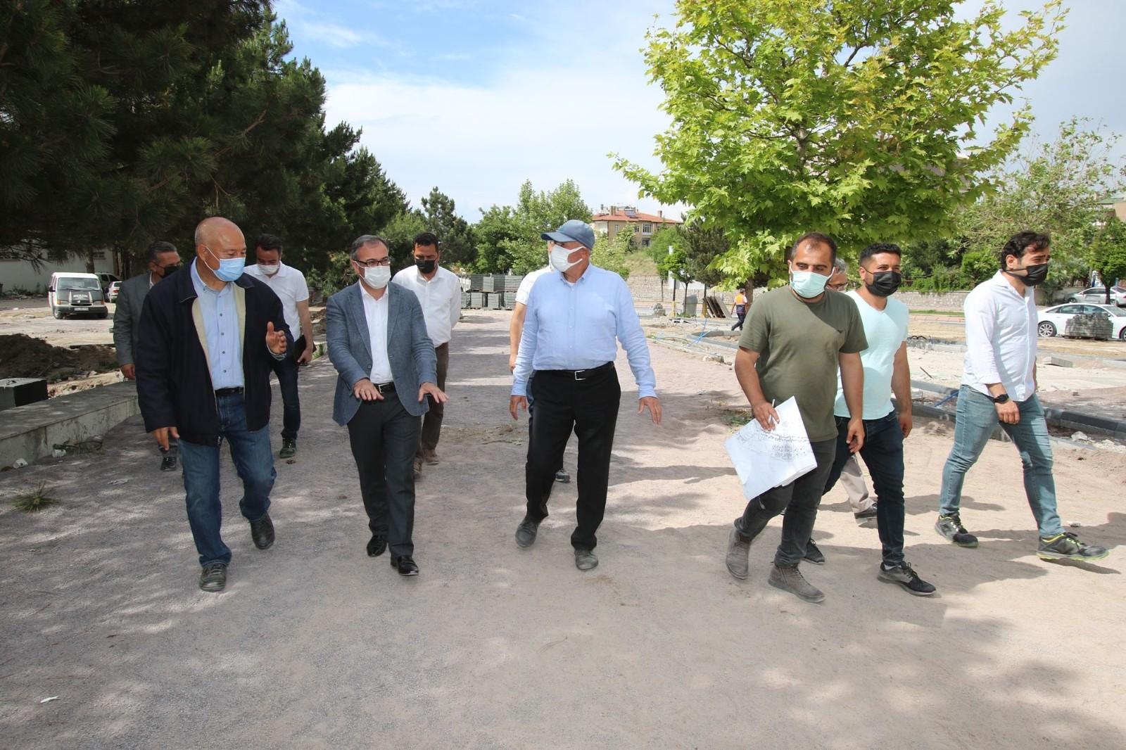 15 Temmuz Şehitler Parkı'nda hummalı çalışma