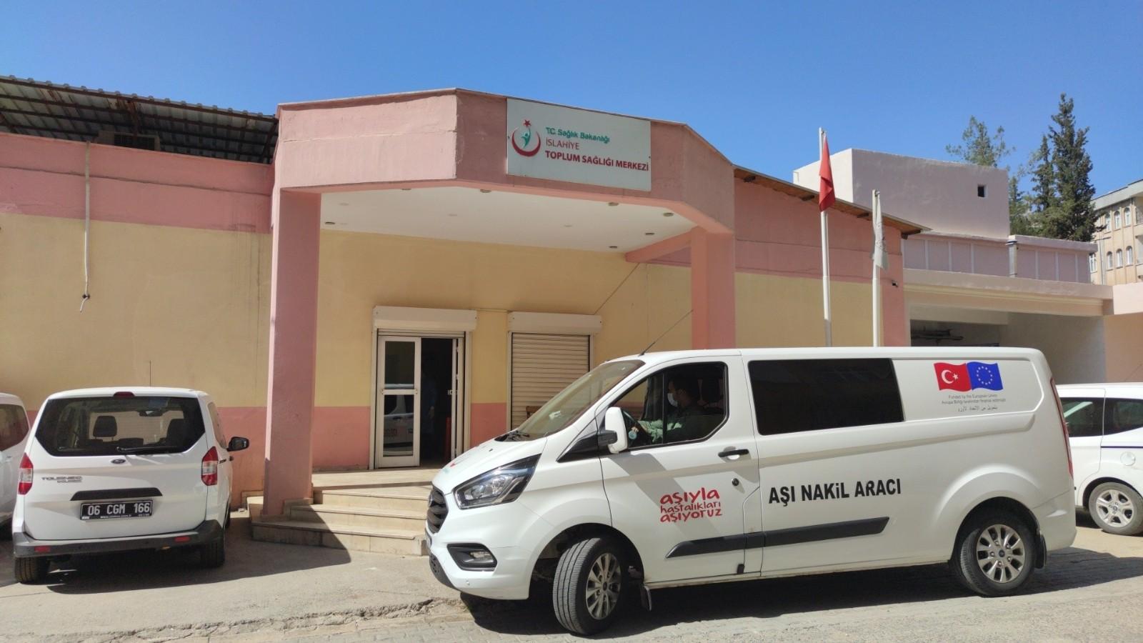 Gaziantep'te aile sağlığı merkezlerinde BioNTech aşısı uygulanmaya başlandı