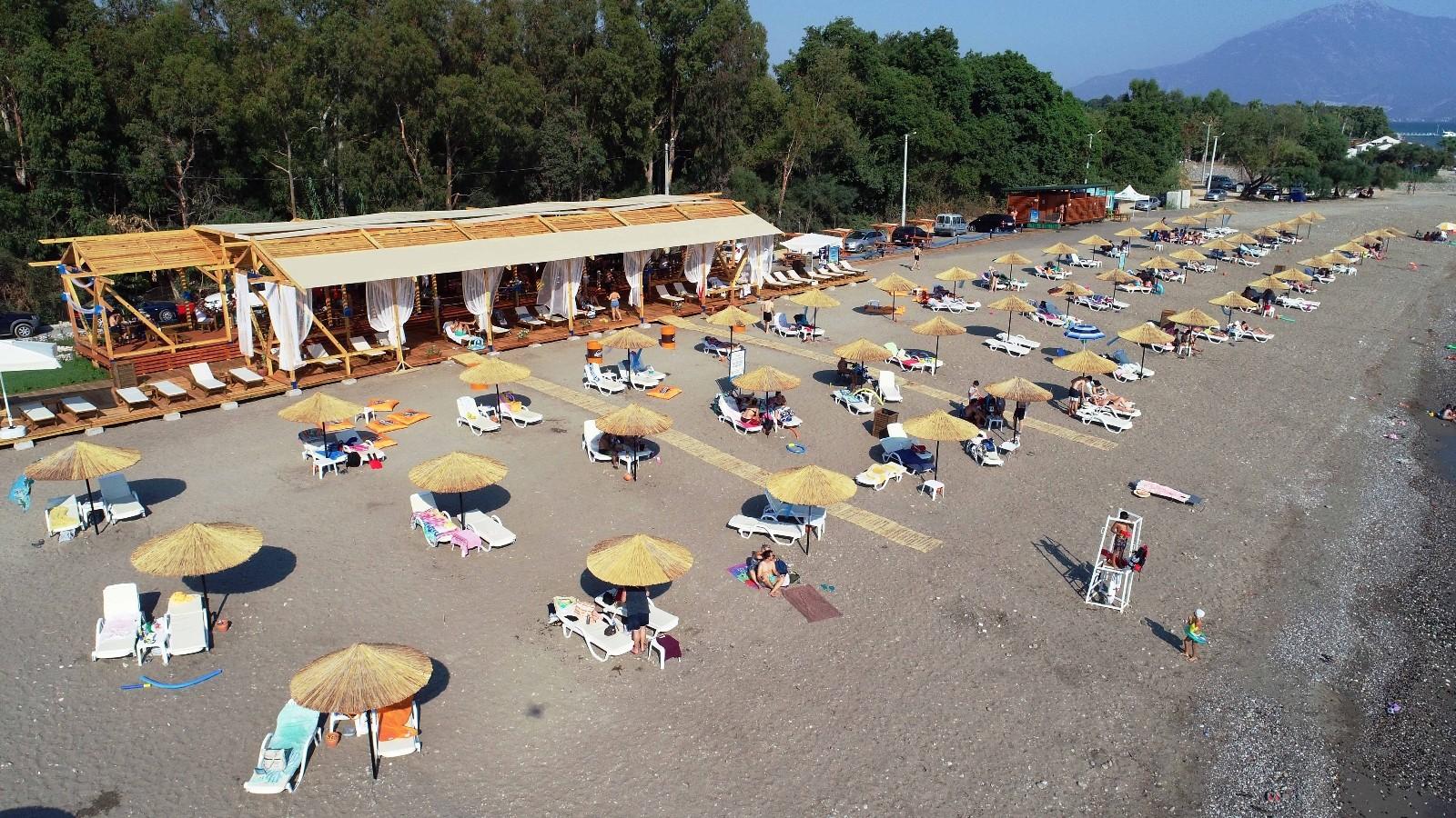 Karaot Halk Plajı sezona hazır