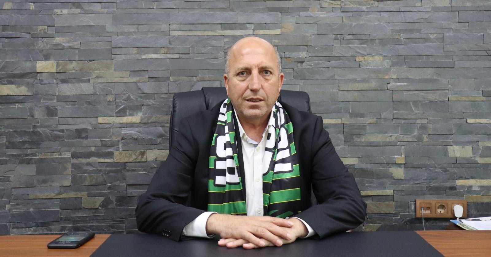 Özel haber Kocaelispor'da hedef güçlü altyapı ve tesisleşme ile Süper Lig'e çıkmak