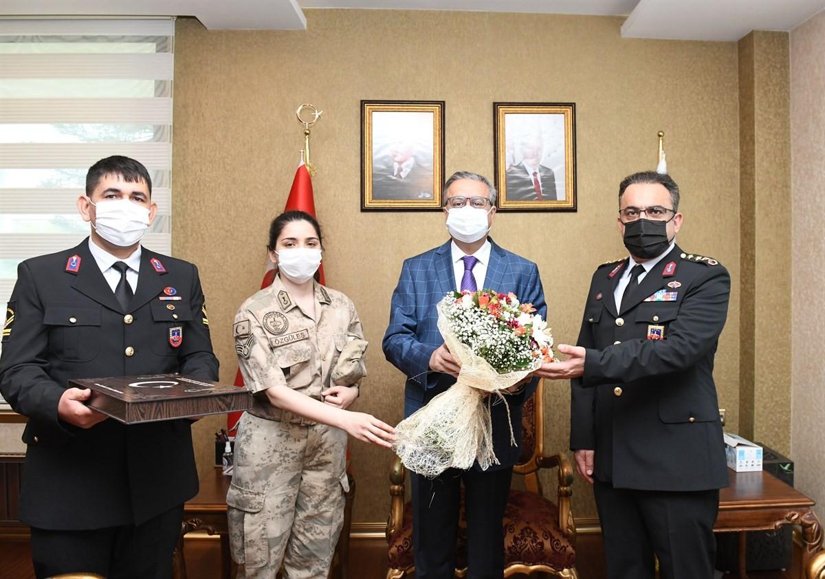 Vali Su, Jandarma Teşkilatının 182'nci yılını kutladı