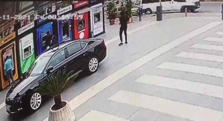 Yomra'da Belediye Başkanı Bıyık'a silahlı saldırı anı güvenlik kameralarına saniye saniye yansıdı