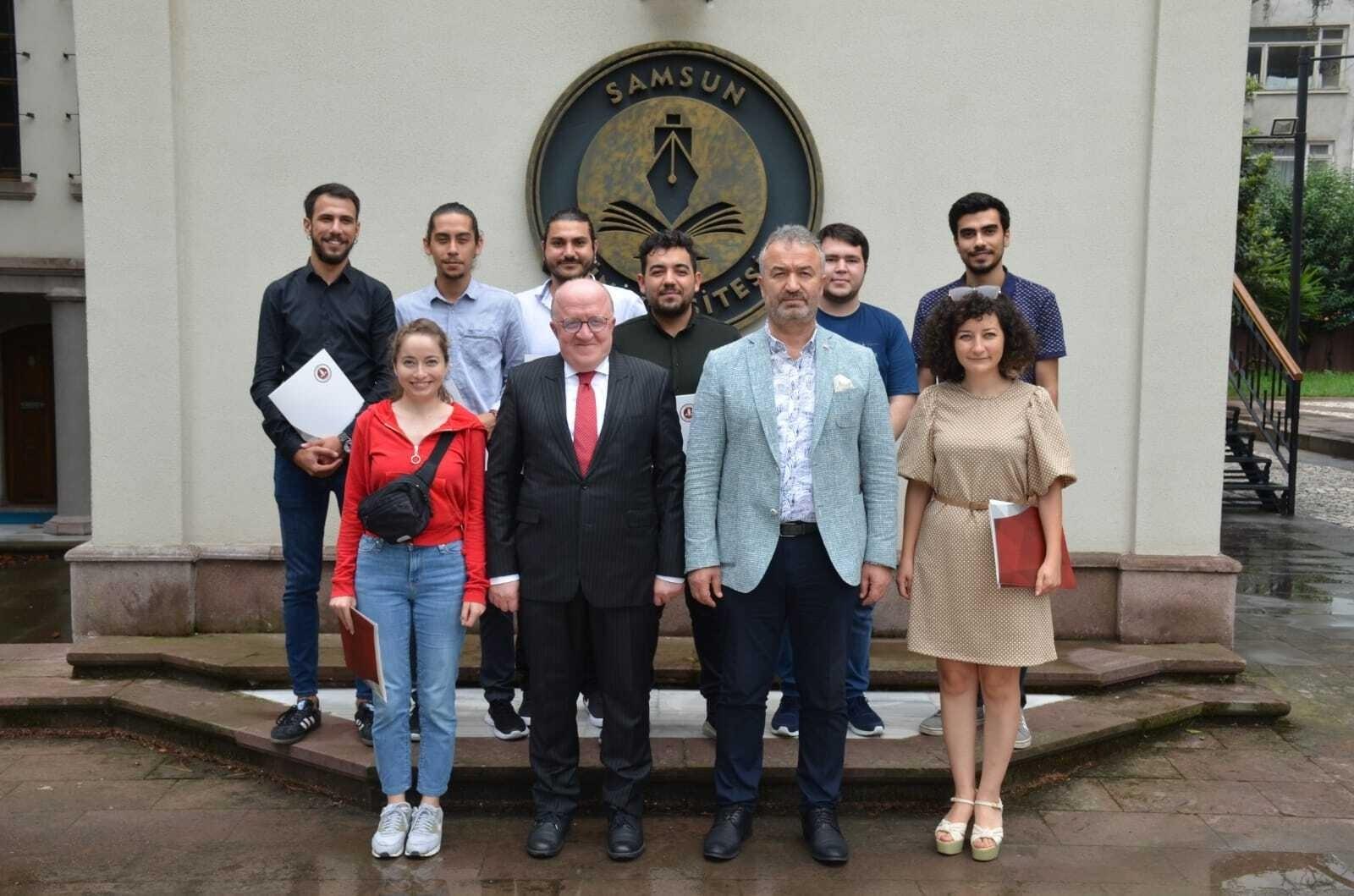 Samsun Üniversitesi Roket Takımı IREC2021'de ikinci oldu