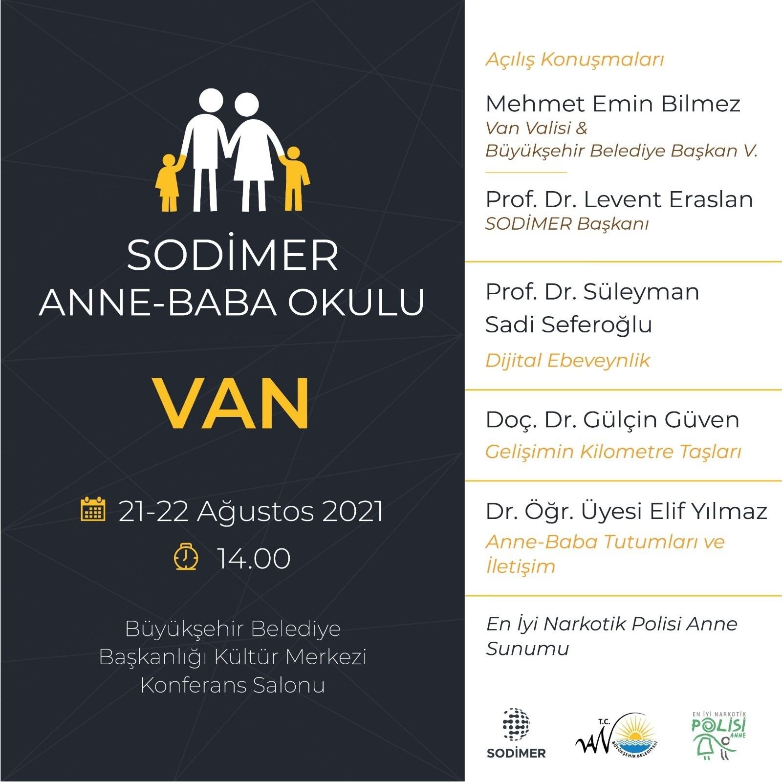 Van Büyükşehir Belediyesi anne-baba okulu semineri düzenleyecek