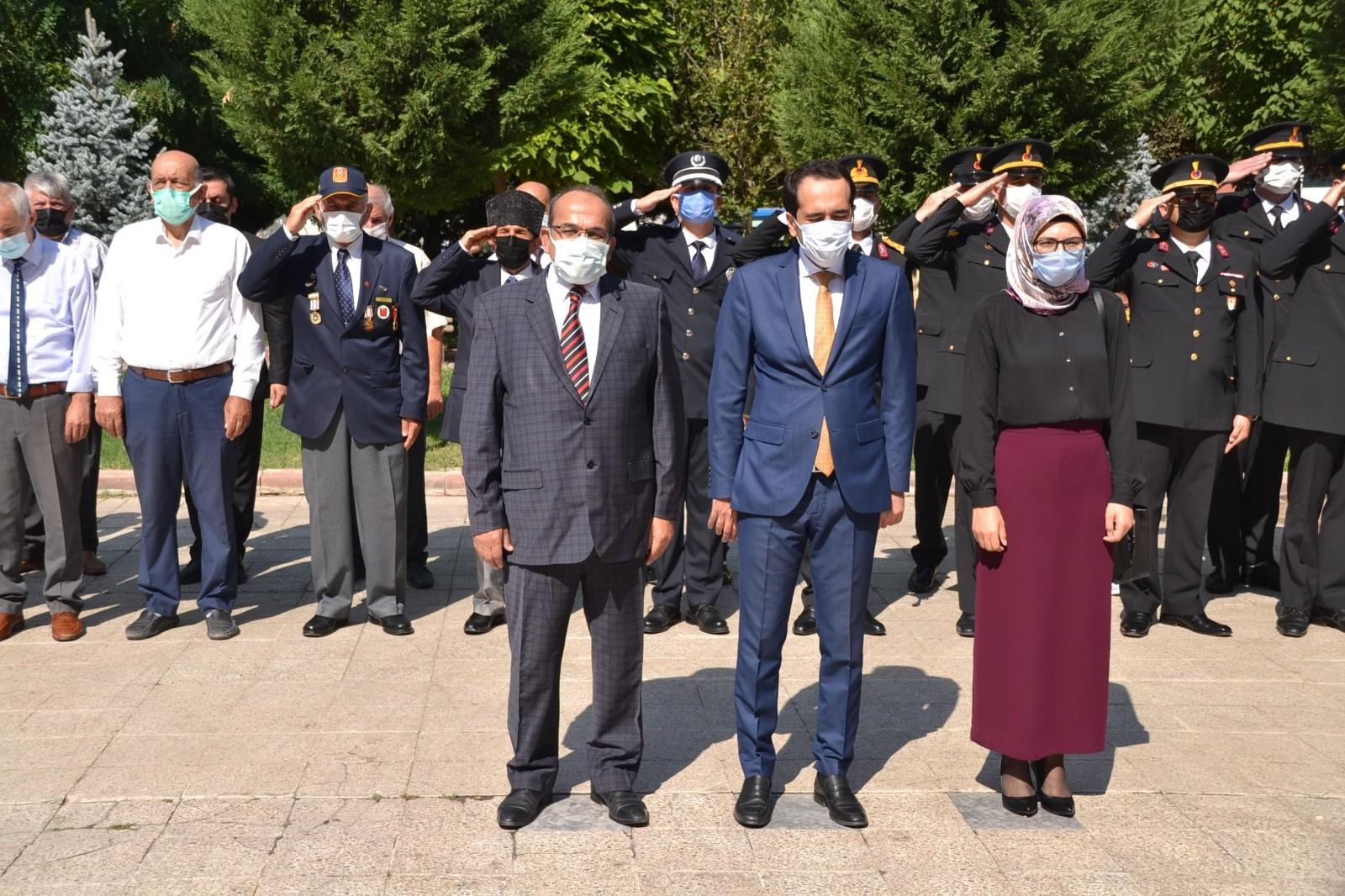 Kargı'da 30 Ağustos törenle kutlandı