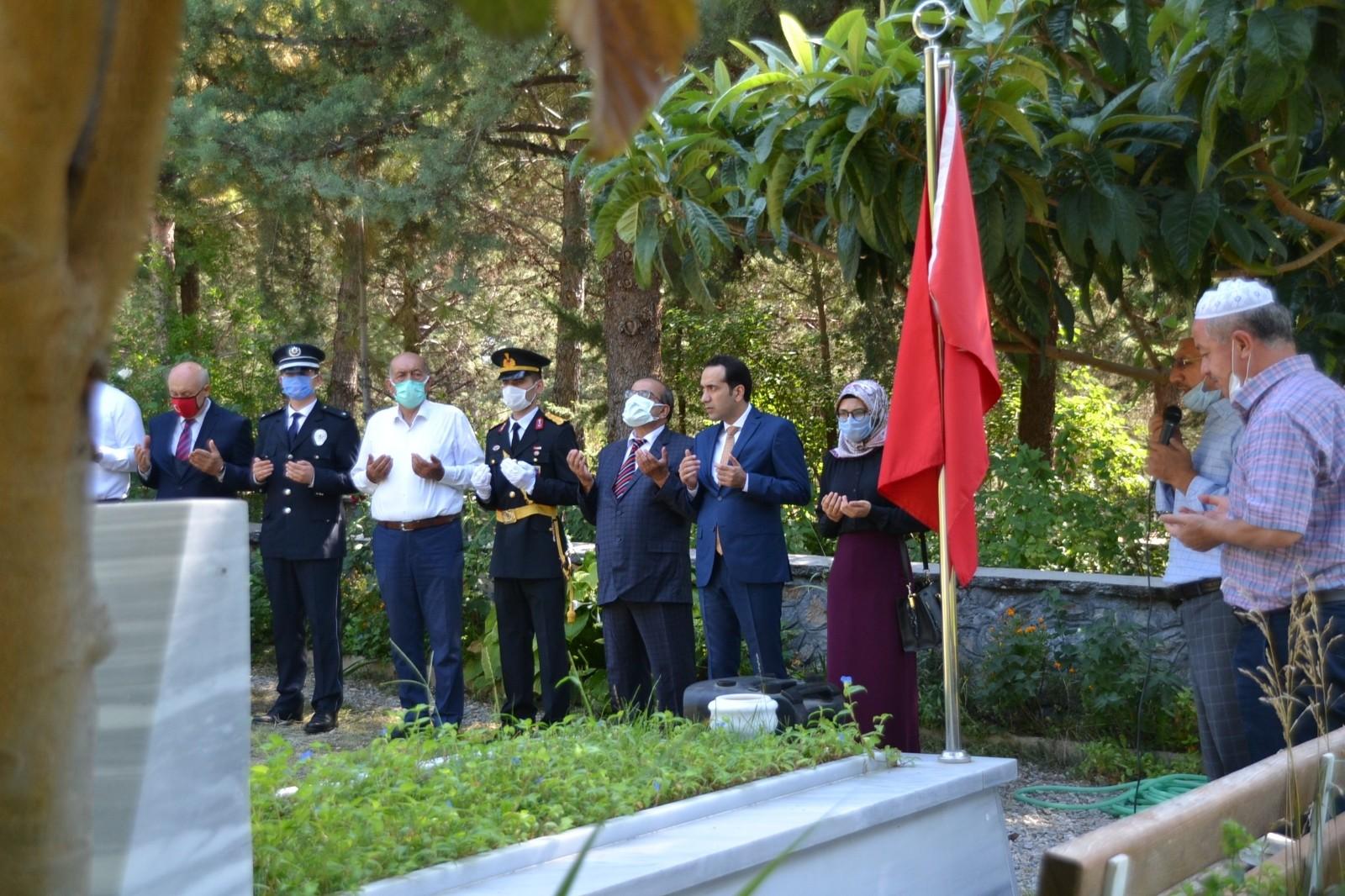 Kargı'da 30 Ağustos Zafer Bayramı'nda şehitler unutulmadı