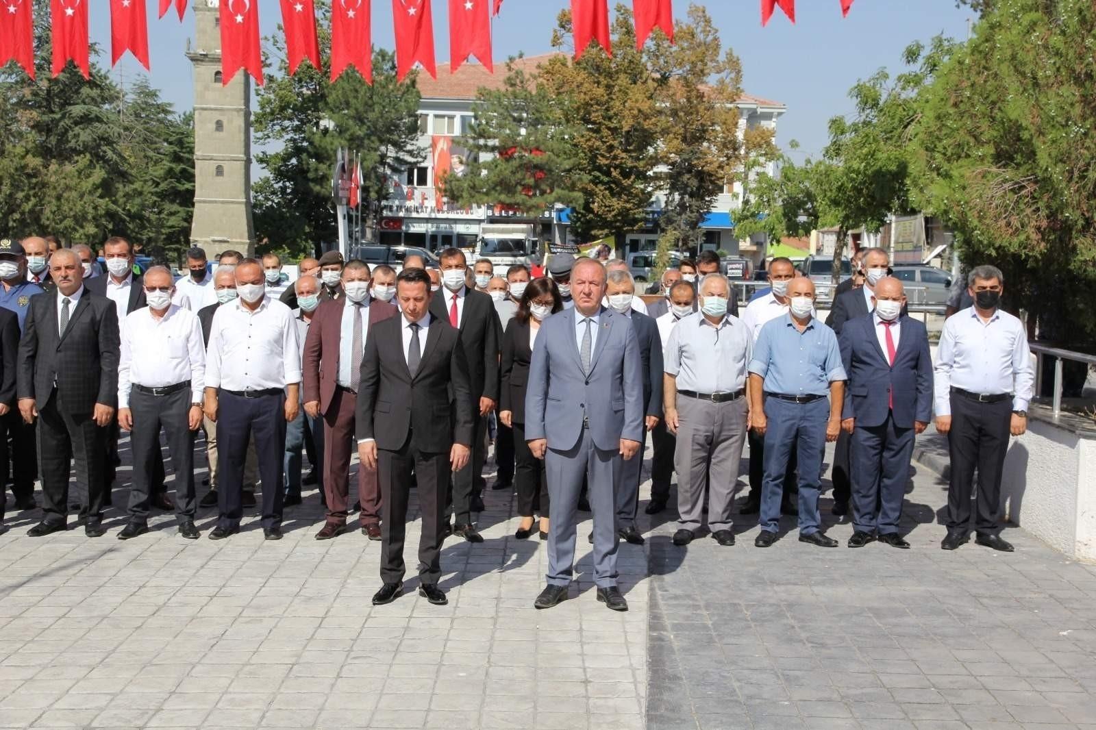 Sungurlu'da büyük zafer'in 99. yıl dönümü kutlandı