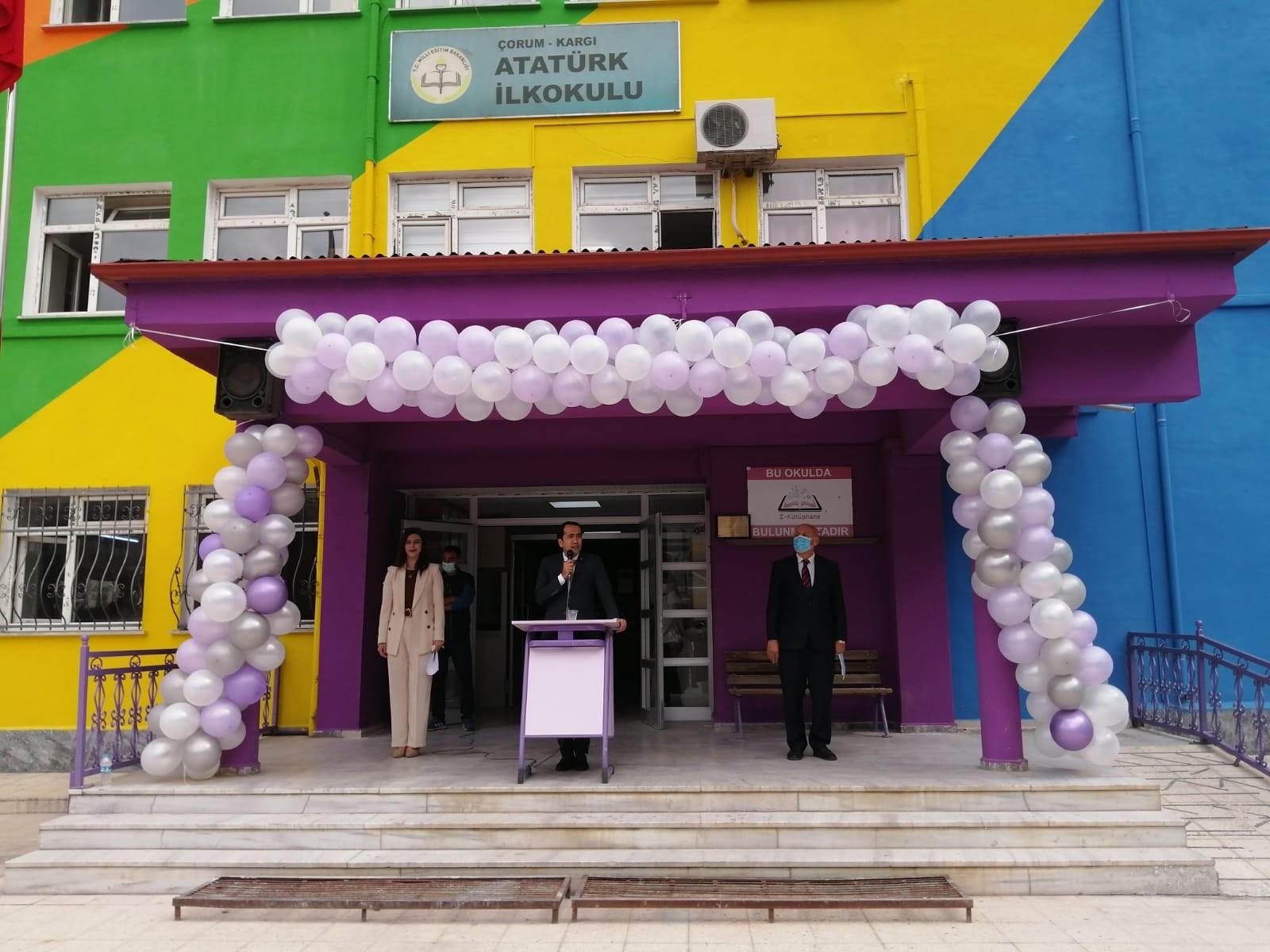 Kargı'da bin 386 öğrenci ders başı yaptı