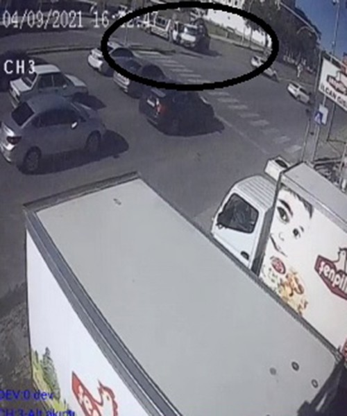 Çekicilerin karıştığı ölümlü kaza güvenlik kamerasında