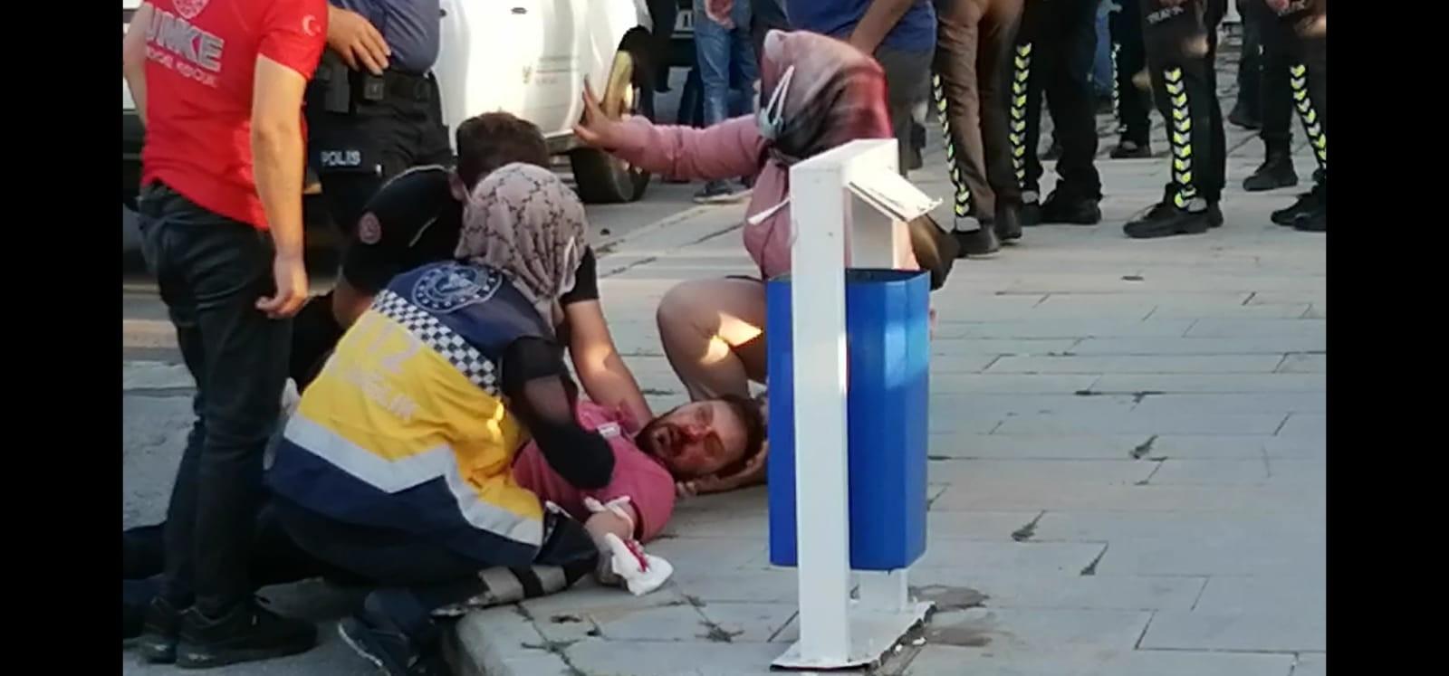 Kaza tutanağı tutmak isteyen taraflar anlaşamayınca yumruklar konuştu -  Erzurum Haberleri