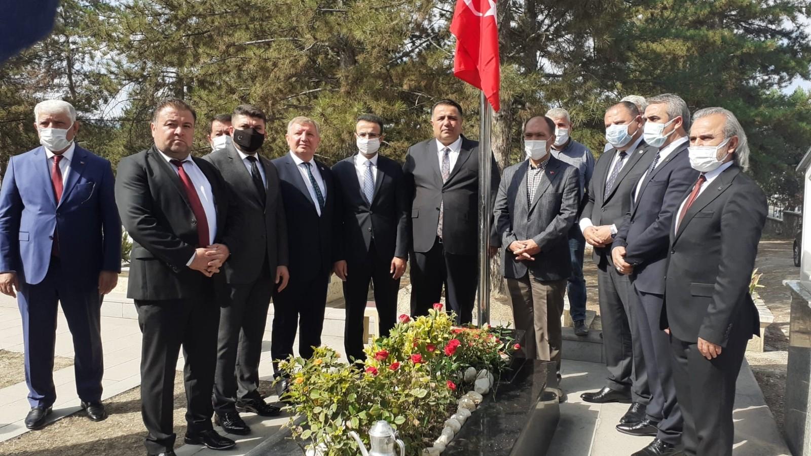 Şehit öğretmen Şenay Aybüke, mezarı başında anıldı