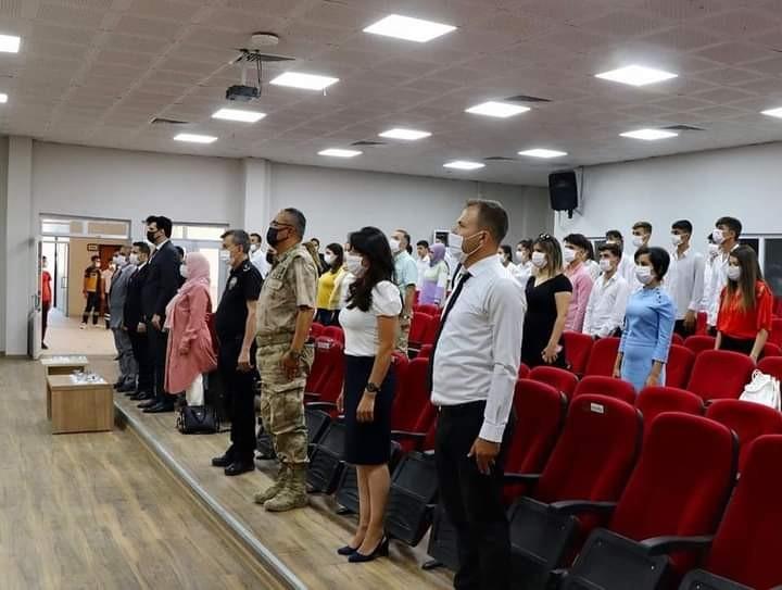 Çukurca da 'İlköğretim Haftası' etkinliği düzenlendi