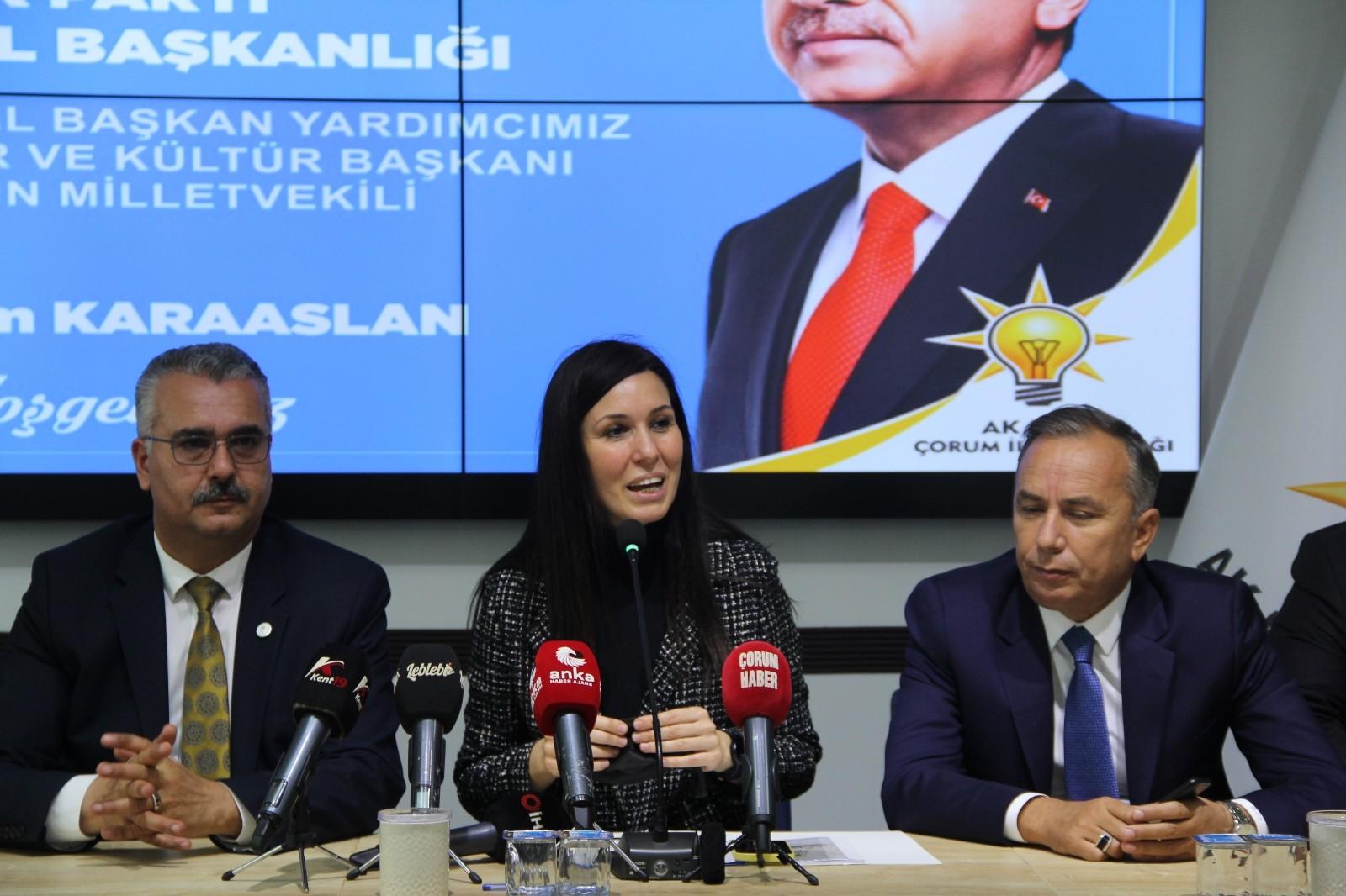 AK Parti Genel Başkan Yardımcısı Karaaslan: Ekonomik verilerdeki başarı en kısa zamanda vatandaşa yansıyacak