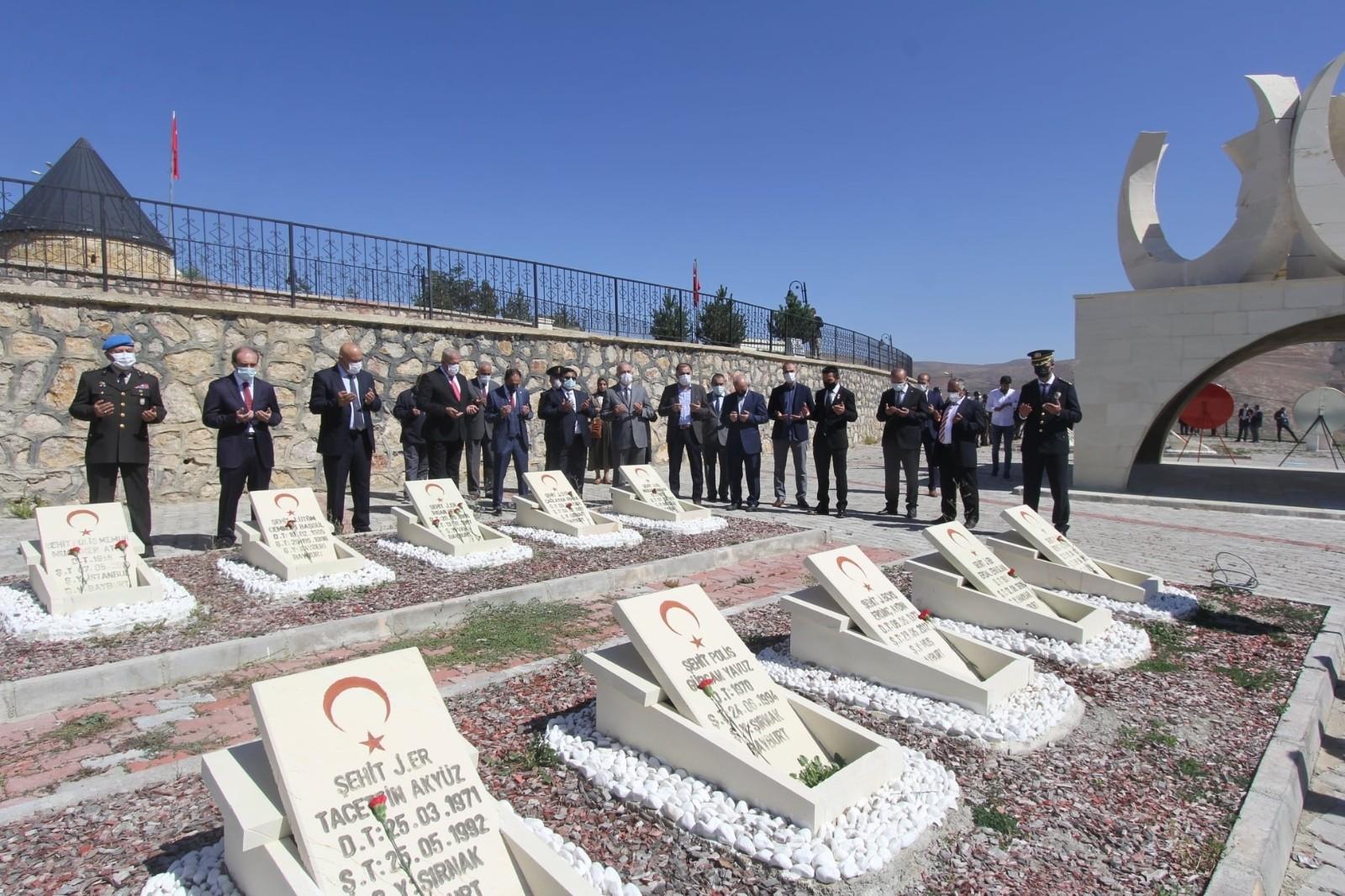 Bayburt'ta Gaziler Günü törenle kutlandı