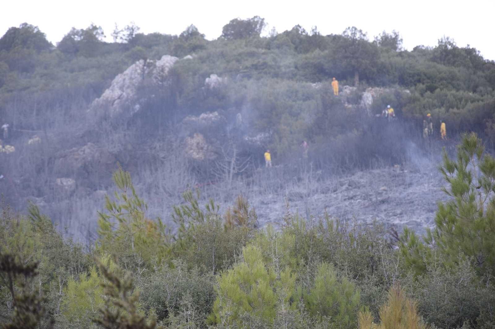 Bucak'taki orman yangını kontrol altına alındı #burdur