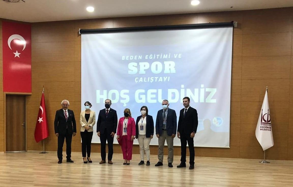 Rektör Türkmen, başkentte düzenlenen çalıştaya katıldı #bayburt