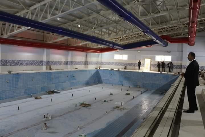 Şemdinli'deki yarı olimpik yüzme havuzu bitme aşmasına geldi #hakkari