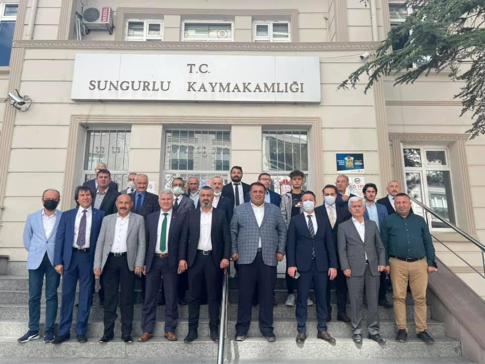 AK Parti Çorum Milletvekili Kaya: Sungurlu'daki tarım arazilerini su ile buluşturacağız #corum