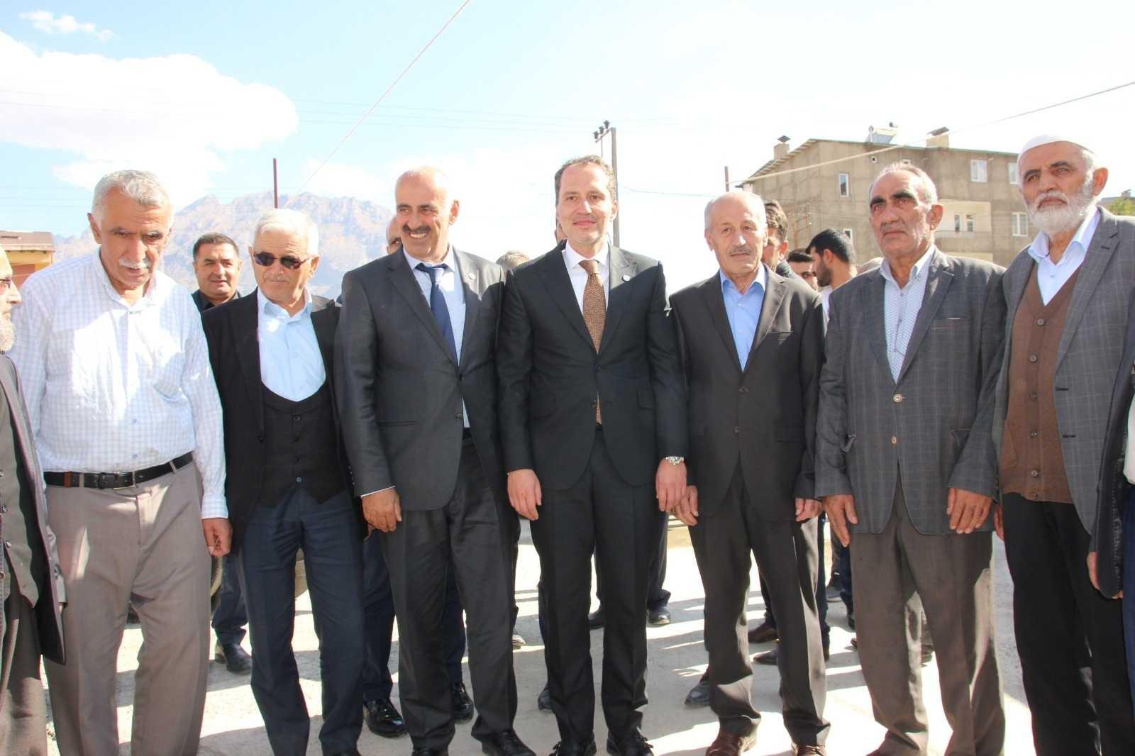 Yeniden Refah Partisi Genel Başkanı Fatih Erbakan Hakkari'de #hakkari