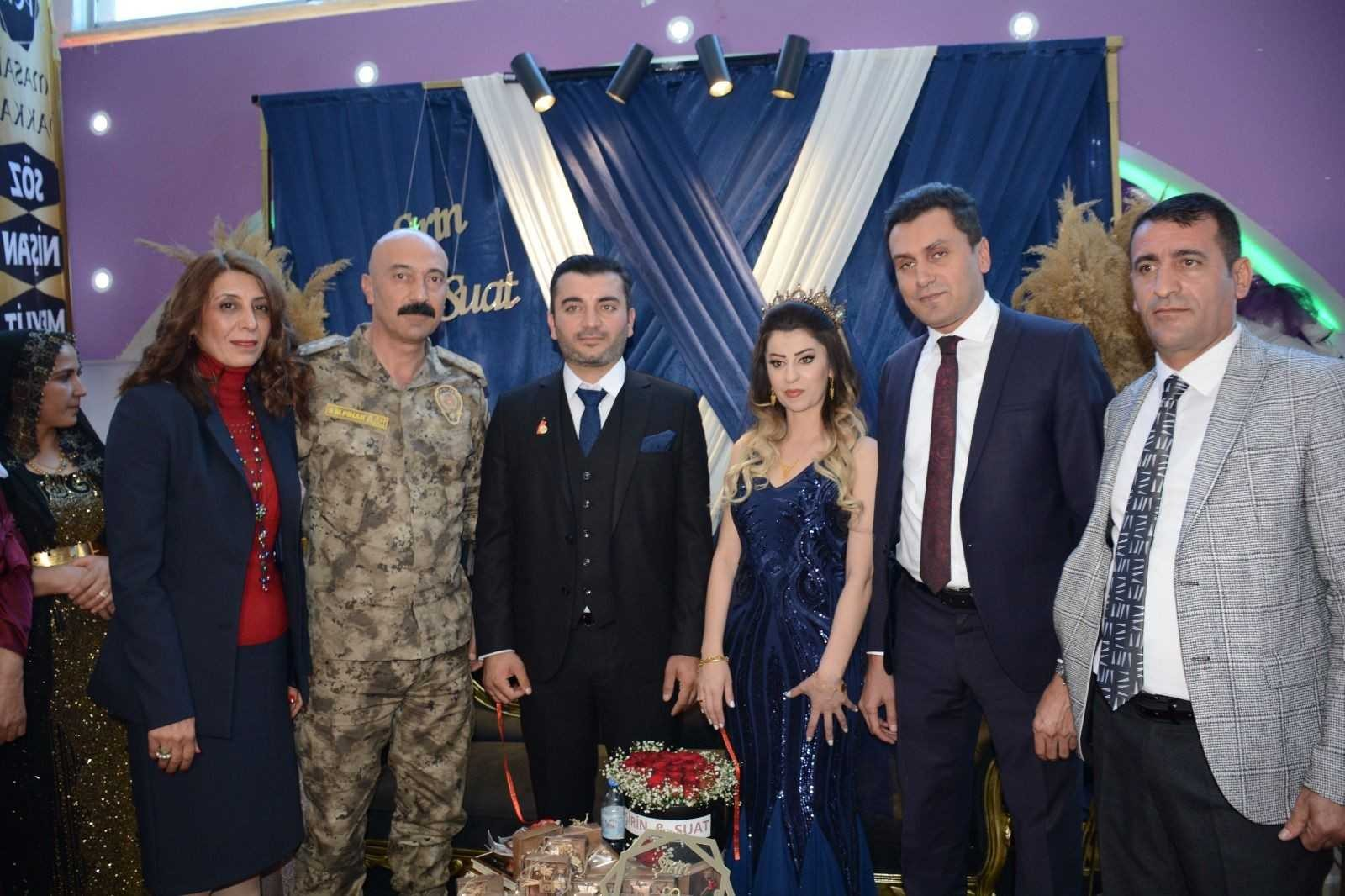 Şehit kızı Adıyaman'a görkemli nişan töreni #hakkari