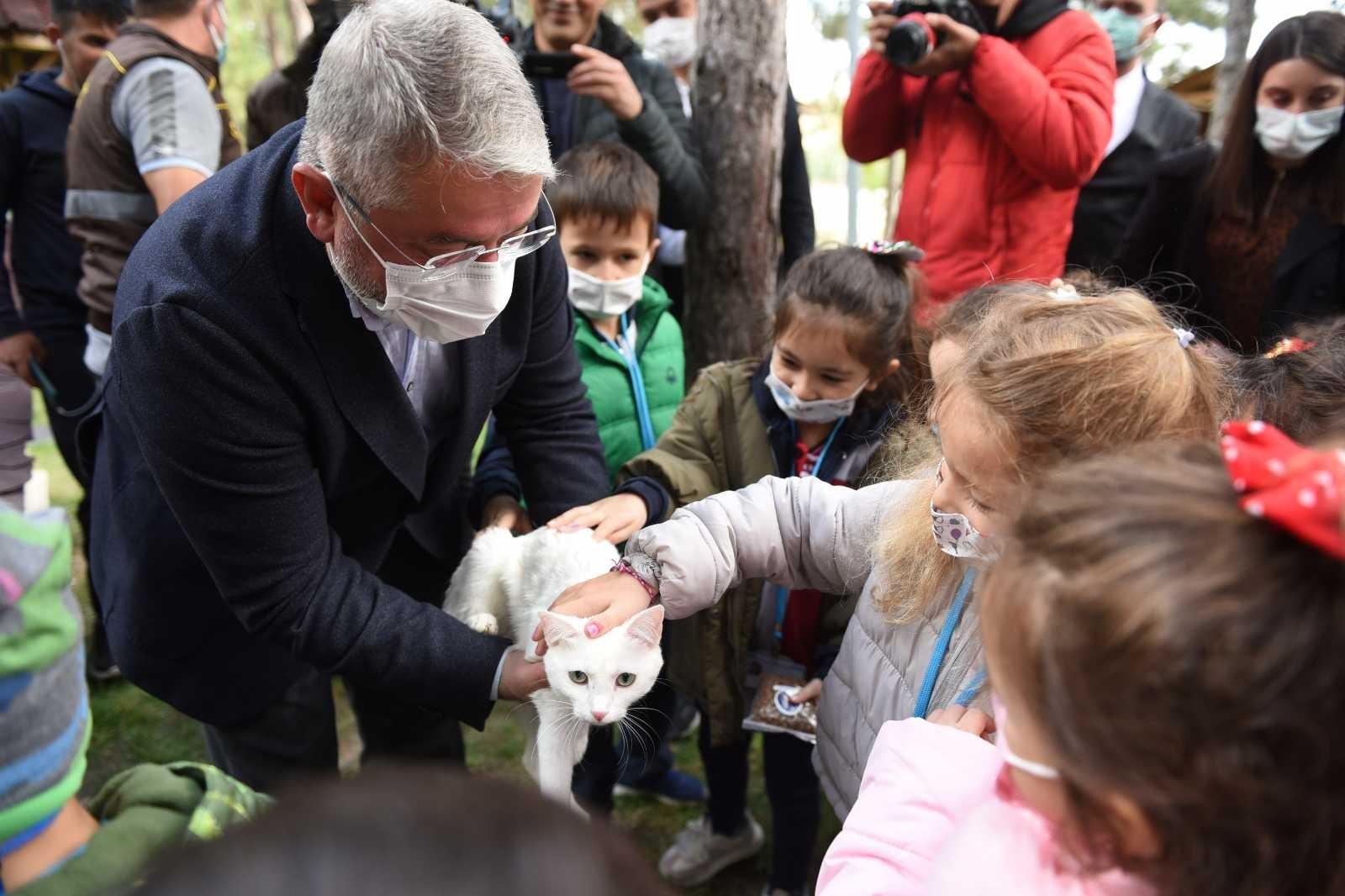 Çorum Belediyesi'nden 4 Ekim hayvanları koruma günü etkinliği #corum