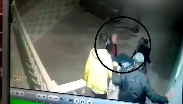 Dövüldükten sonra ölen şahsın güvenlik görüntüleri ortaya çıktı #corum