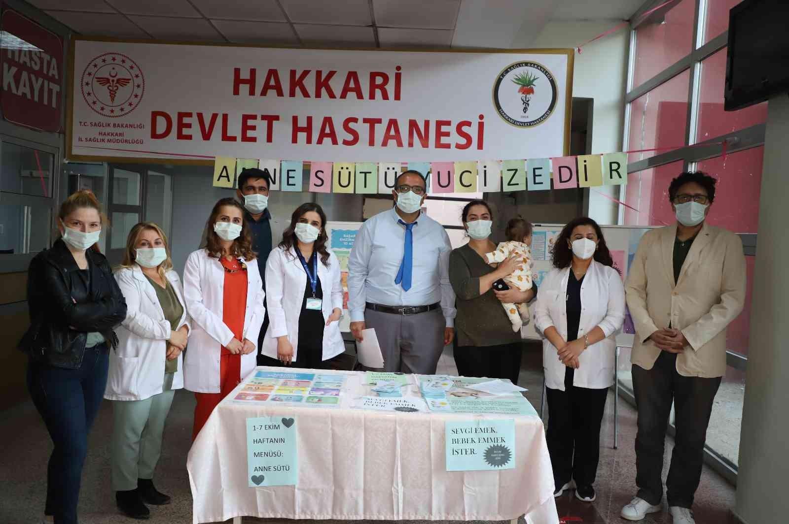 """Uz. Dr. Kara; """"Covid-19 pozitifliği esnasında da anne sütü kesilmemeli"""" #hakkari"""