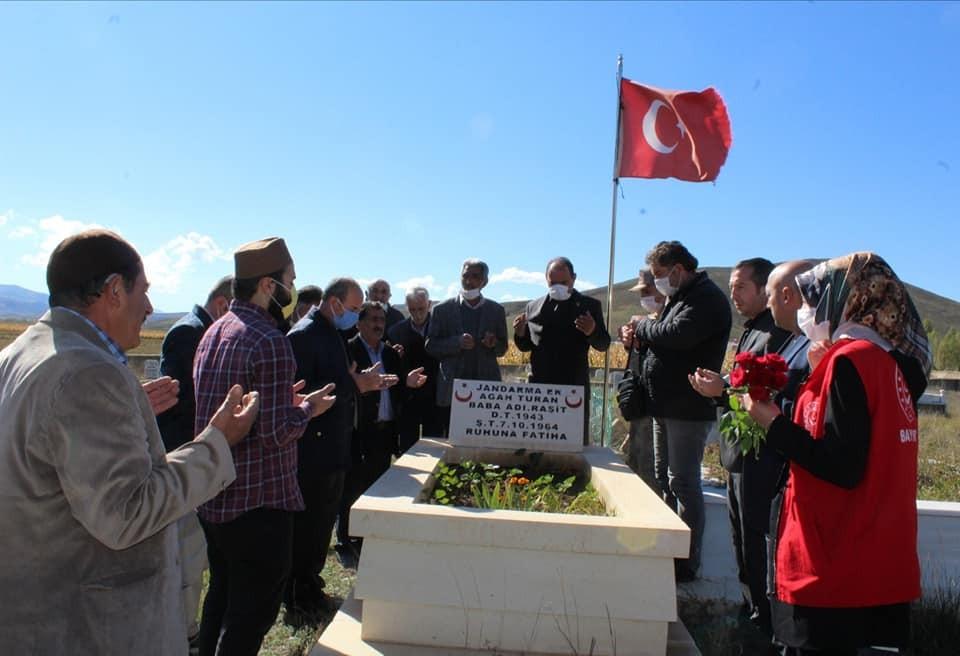 Şehit Agah Turan unutulmadı #bayburt