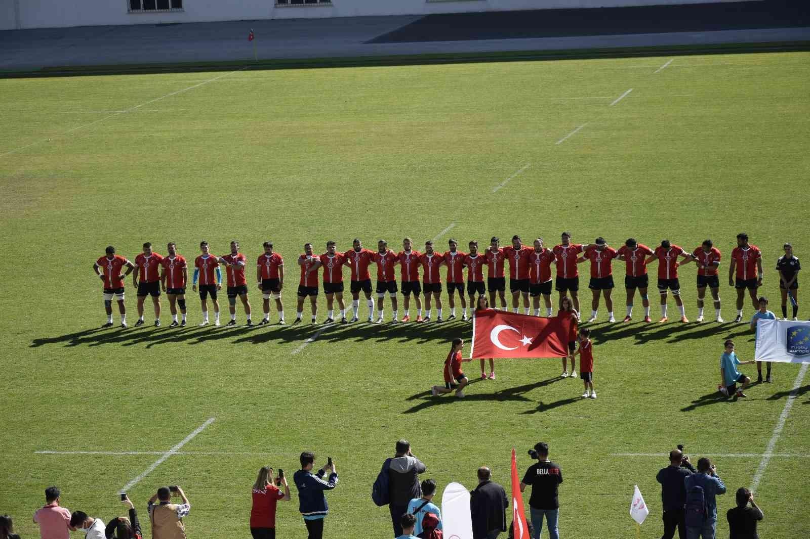 Ragbi Milli Takımı, Andorra'ya mağlup oldu #burdur