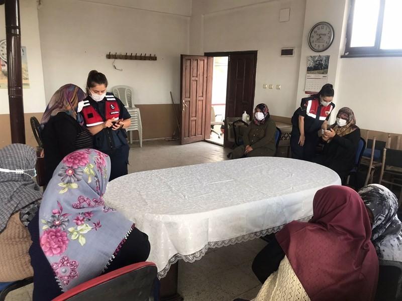 Jandarma köylerde KADES'i anlatıyor #corum