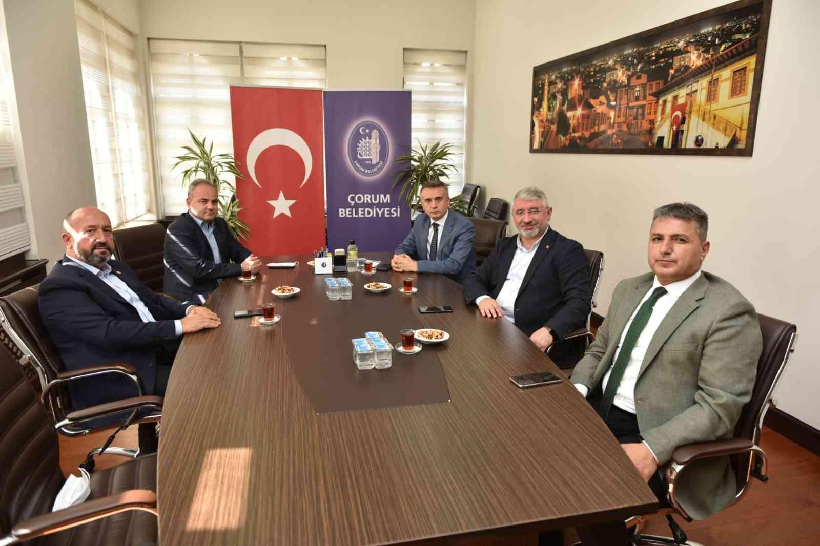 """AK Partili Kavuncu: """"Çorum Belediyesi, AK belediyecilik anlayışının en güzel örneğini sergilemektedir"""" #corum"""