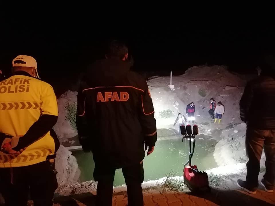 Suyla dolan hafriyat çukuruna düşen çocuk hayatını kaybetti #corum