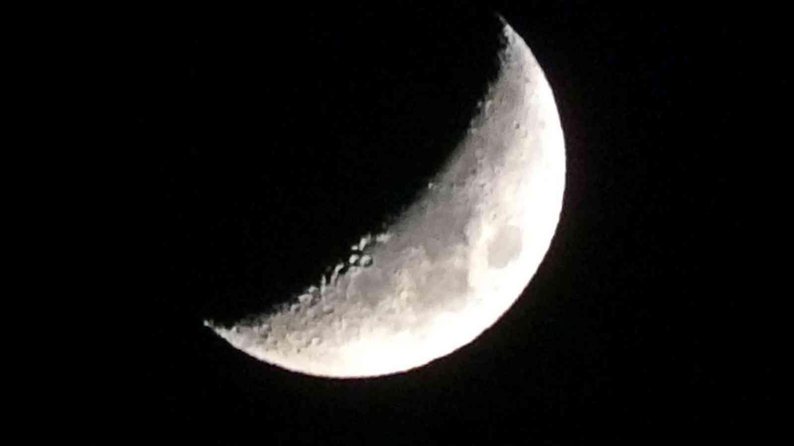 Ay güzelliğiyle büyüledi #hakkari