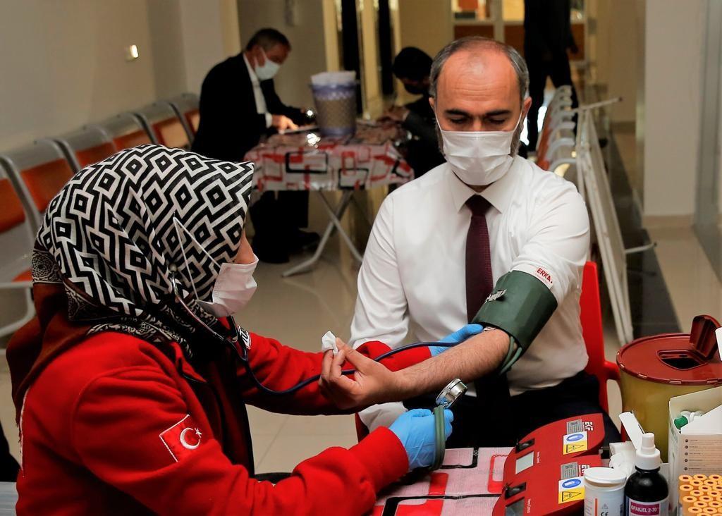 Bayburt Üniversitesinden kan bağışına destek #bayburt