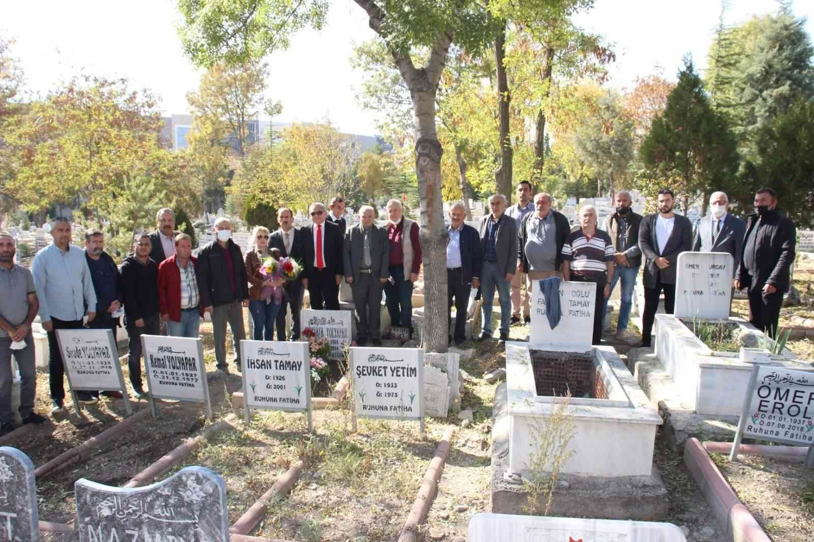 Gazeteci Mustafa Yolyapar ölüm yıldönümünde anıldı #corum