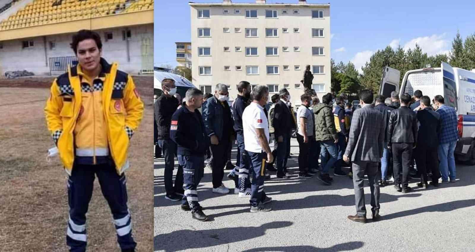 Kazada hayatını kaybeden sağlık çalışanı törenle memleketine uğurlandı #bayburt