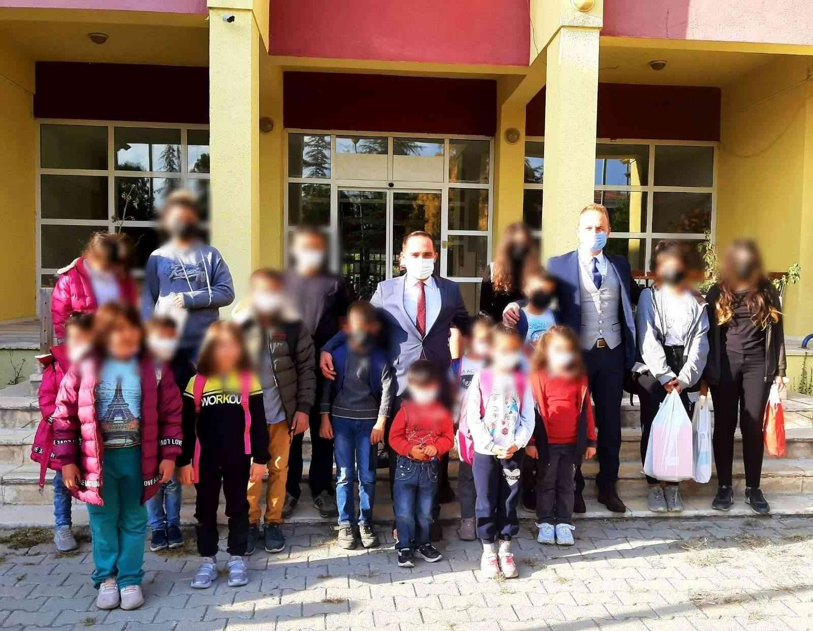 Koruma Kurulu'ndan hükümlü çocuklarına yardım #corum