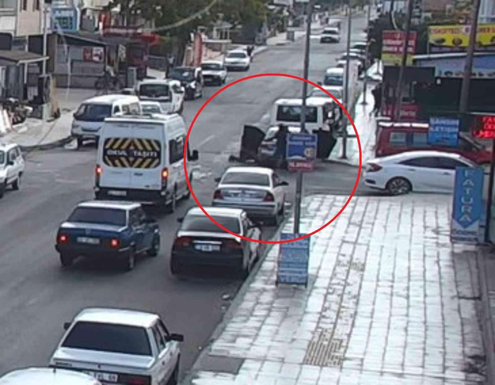 Çorum'daki kardeş cinayeti kamerada #corum