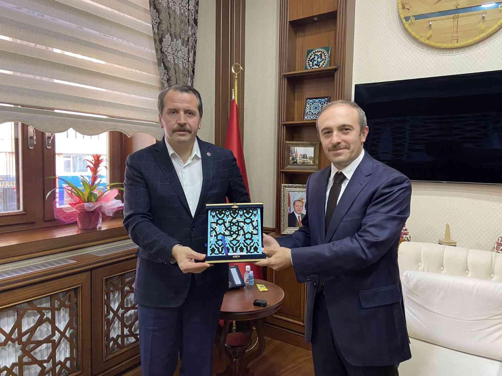Memur-Sen Genel Başkanı Yalçın, Bayburt'ta #bayburt