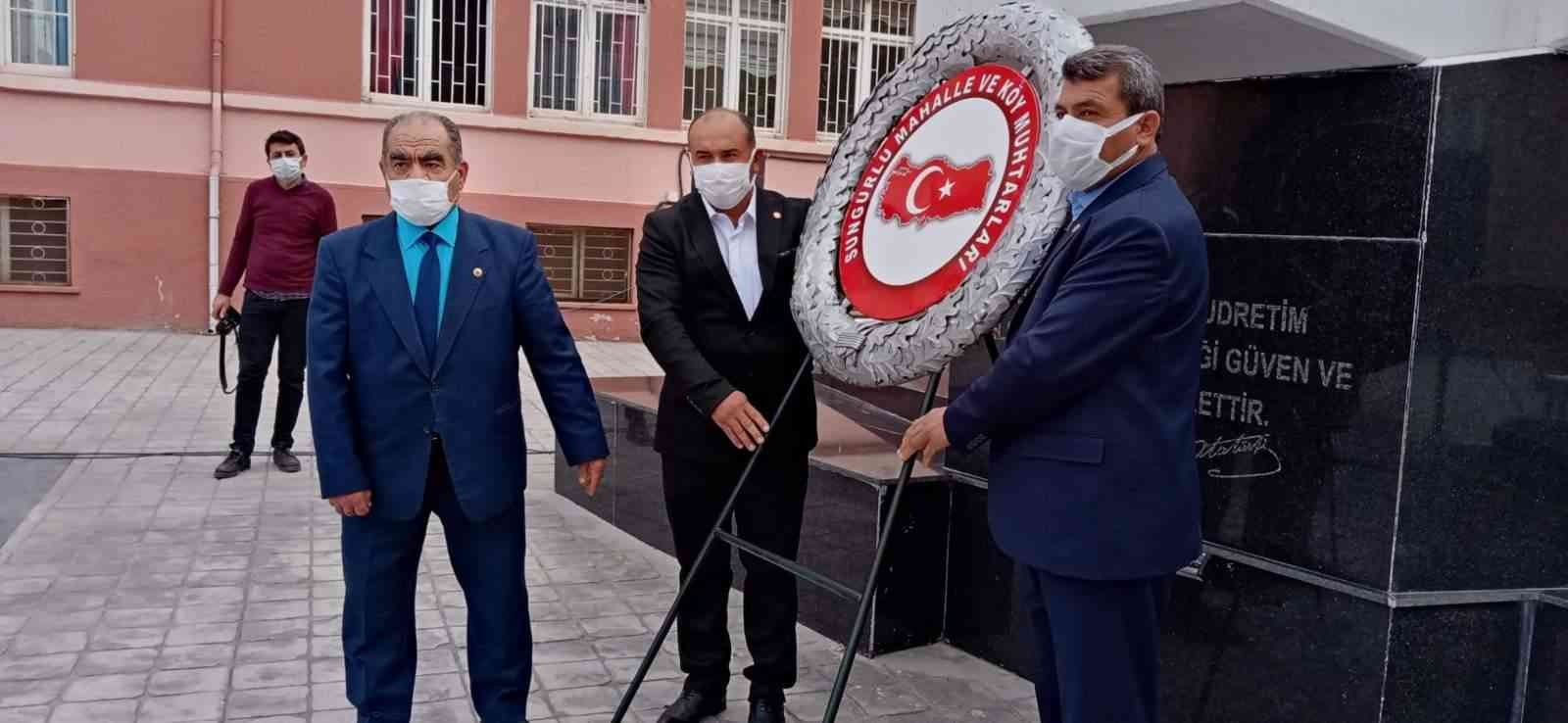Ramazan Ergişi: Muhtarlık yerel demokrasinin en eski örneğini temsil ediyor #corum